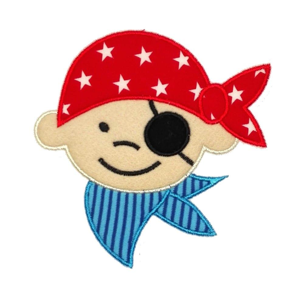 Bastelvorlage Pirat