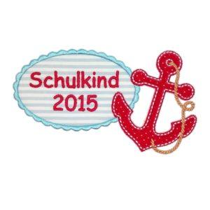 Schulkind2018 / 2019 Anker XL passend für die Schultüte