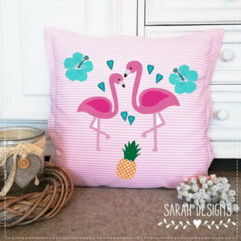 Stickdatei Summerlove Flamingo 18×13