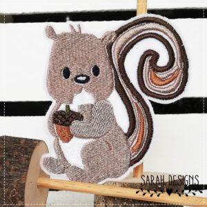 Bügelbild Eichhörnchen