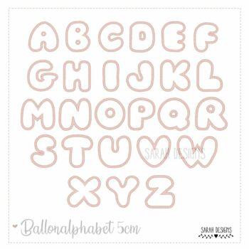 Stickdatei 10×10 – Ballon Alphabet – 5cm