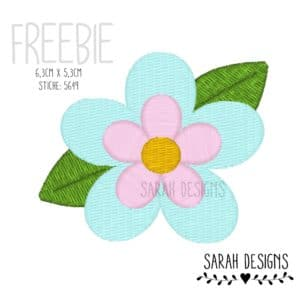 Freebie – Blümchen 10×10