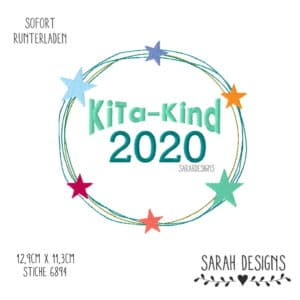 Stickdatei KiTa-Kind 2020 – 18×13