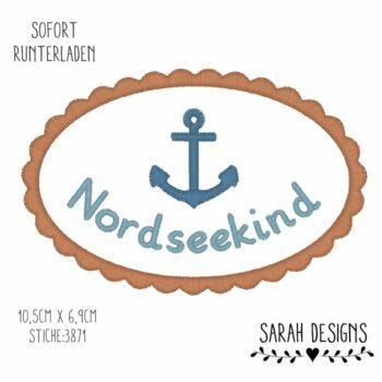 Stickdatei – Nordseekind – 18×13