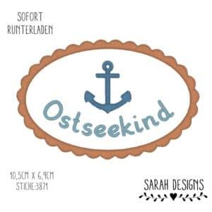 Stickdatei 18×13 – Ostseekind – Wellenrand