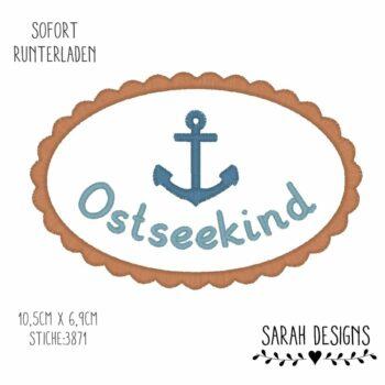 Stickdatei  – Ostseekind – 18×13