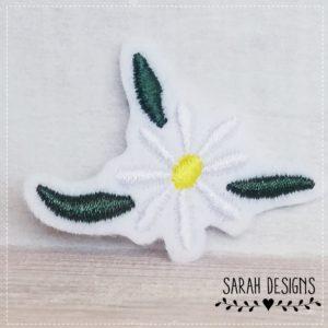 Bügelbild Blüte – 5cm