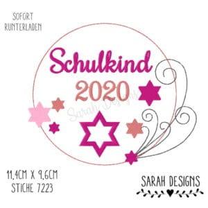 Stickdatei – Schulkind Märchen 18×13