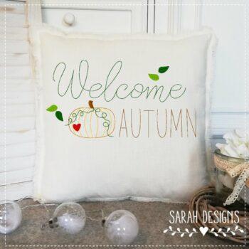 Stickdatei – Welcome Autumn 30×20