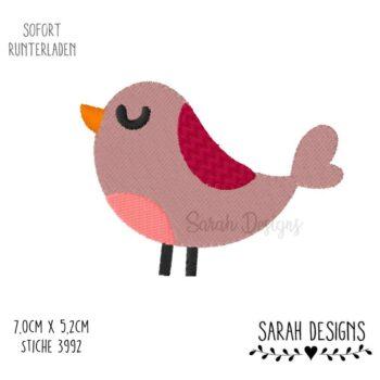 Stickdatei – Vögelchen 10×10