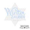 Stickdatei Winterzauber Stern für deine Stickmaschine in vielen angespeicherten Formaten zum erstellen einer schönen Stickerei