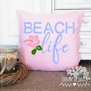 Stickdatei – Beach Life 18×13