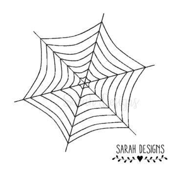 Stickdatei Spinnennetz 10×10