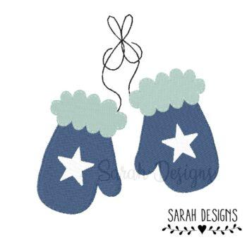 Stickdatei – Handschuhe 10×10