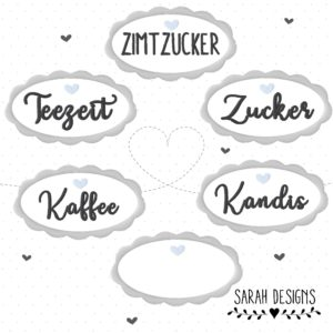 Stickdatei Teezeit 6 Button 10×10