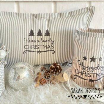 Stickdatei Hyggelige Christmas 10×10