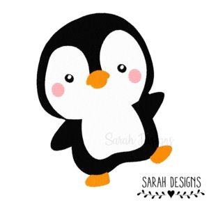 Stickdatei kleiner Pinguin 10×10