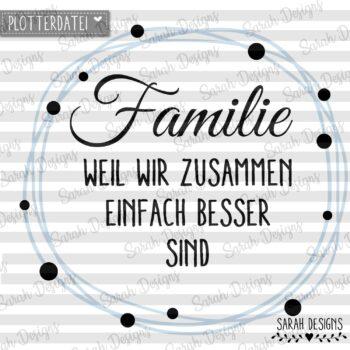 Plotterdatei Familien-Button