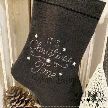 Stickdatei  It´s Christmas Time  18×13