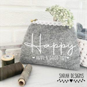 Plotterdatei HAPPY – Have a good Day