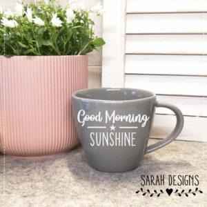 Plotterdatei Good Morning Sunshine