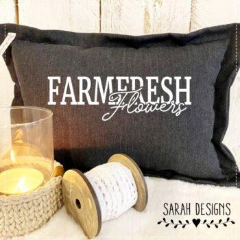Plotterdatei Farmfresh Flowers