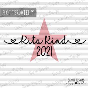 Plotterdatei KiTa Kind 2021