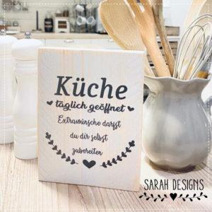 Plotterdatei Küche täglich geöffnet