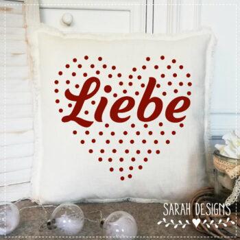 F R E E B I E – Plotterdatei Liebe im Herz