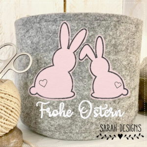 Stickdatei – Frohe Ostern Doodle 18×13