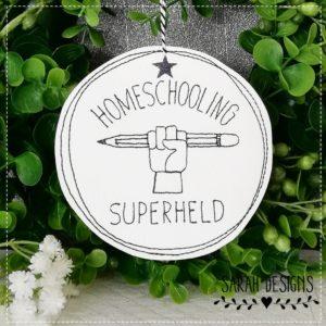 Kunstleder Orden – Homeschooling Superheld