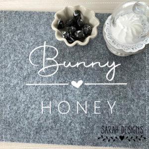 Plotterdatei Bunny Honey