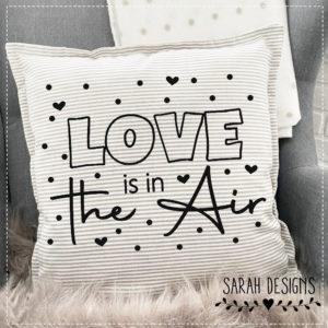 Plotterdatei Love is in die Air