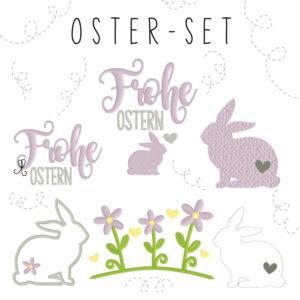 Stickdatei – Oster Set 10×10