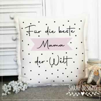 Plotterdatei Für die beste Mama