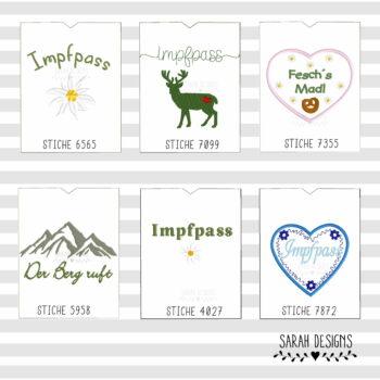 Alpen ITH Impfpasshülle 18×13 – 6er Set