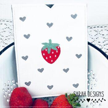 ITH Impfpasshülle Erdbeere 18×13