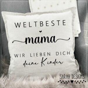 Plotterdatei weltbeste Mama
