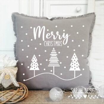 Plotterdatei Merry Christmas Bäumchenliebe
