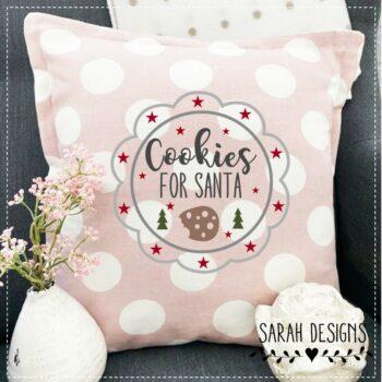 Plotterdatei Button Cookies for Santa