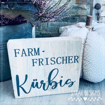 Plotterdatei Farm frischer Kürbis
