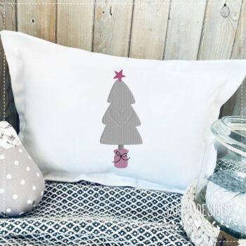 Stickdatei – Weihnachtsbaum 18×13