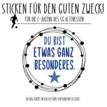 CHARITY – STICKEN FÜR DEN GUTEN ZWECK