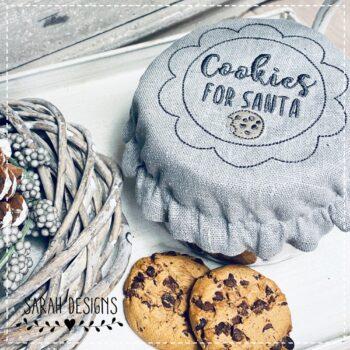 Stickdatei – Cookies for Santa 3er Set
