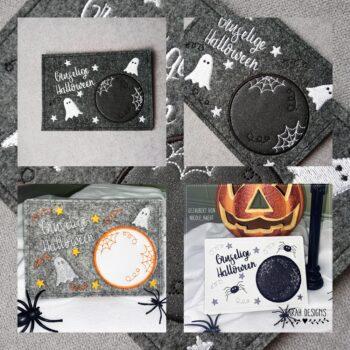 ITH Tassen-Deckchen 18×13 Halloween
